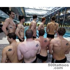 Hawk swimmers boast tigerhawk tattoos   The Daily Iowan_15