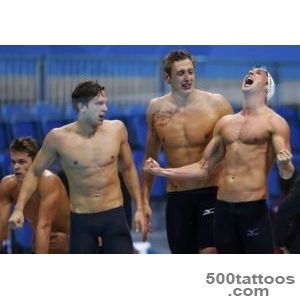 Olympic ink 50 more tattoos on the world#39s best athletes_20