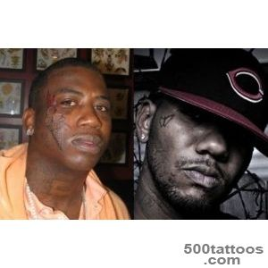 VOTE Is Gucci Mane#39s Face Tattoo Worse Than Game#39s Face Tattoo _27