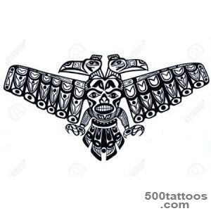 Black Tattoo Pattern Of Old Indian Totem Photo, Pictures _ 16