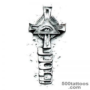 Hands of God eyes totem tattoo 3D tattoo buy in the store _ 3