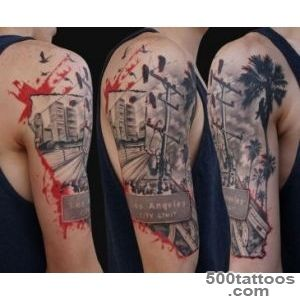 Kick Ass Tattoo Ideas Trash Polka Tattoo Style  KickassThings_27