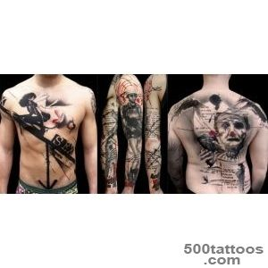 Tattoo Styles Guide Trash Polka  _9
