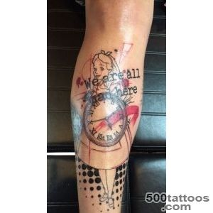 Trash Polka Tattoo Alice in wonderland  Trash Polka  Pinterest _28