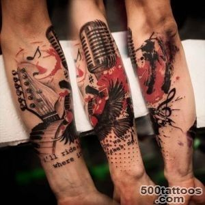 Trash Polka tattoos  Best Tattoo Ideas Gallery_19