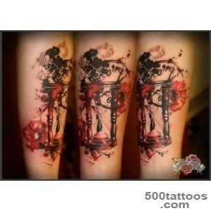 Trash Polka Watercolor Tattoos   Tattoes Idea 2015  2016_44