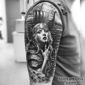 25+ Viking Tattoo Designs, Ideas  Design Trends_49