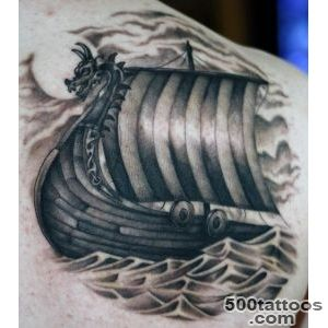 70 Viking Tattoos For Men   Germanic Norse Seafarer Designs_24