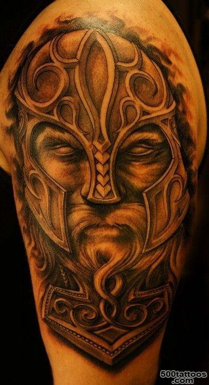 vikings series tattoo