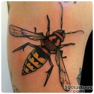Mater Totemica  #hornet #tattoo #blackrosetattoo #wasp #insect_19