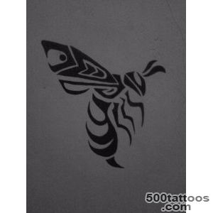 Top Tribal Wasp Tattoo Images for Pinterest Tattoos_48