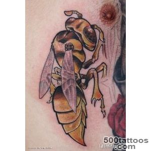 Top Wasp Tattoo Images for Pinterest Tattoos_26