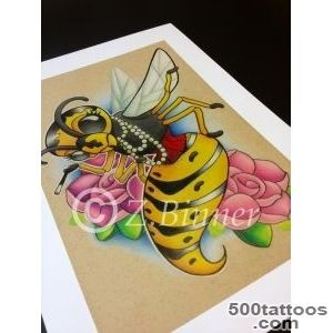Wasp Tattoo design  All Seeing Eye Tattoo Lounge  West Yorkshire _20