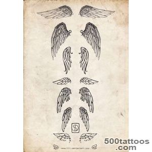 1000+ ideas about Small Wing Tattoos on Pinterest  Wing Tattoos _11