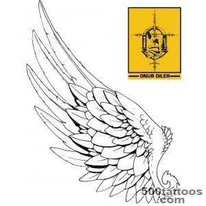 DeviantArt More Like Single Icarus Ink Wing Tattoo by Gammatrap_18