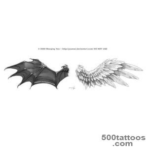 Wings Tattoo Commission by yuumei on DeviantArt_6