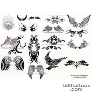 Wings Tattoo Images amp Designs_47