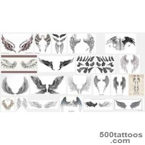 Wings Tattoo Meanings  iTattooDesignscom_2