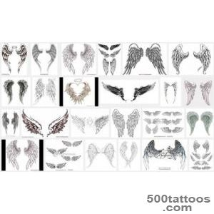 Wings Tattoo Meanings  iTattooDesignscom_10