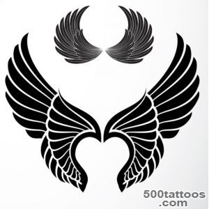 Wing Tattoo Meaning  Ideas  Images_26