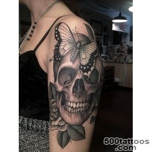 Local Tattoo Zone The Hottest Skull Tattoos_26