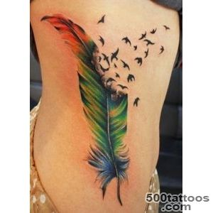 50 Beautiful Feather Tattoo Designs  Art and Design_40