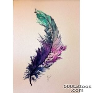 1000+ ideas about Feather Tattoos on Pinterest  Tattoos, Peacock _12