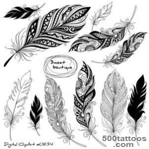 1000+ ideas about Feather Tattoos on Pinterest  Tattoos and body _22
