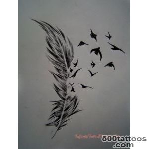 Feather Tattoo ideas and meanings_3