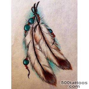 Feather Tattoos, Designs And Ideas  Page 12_20