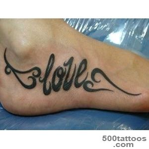 50 Awesome Foot Tattoo Designs  Art and Design_27