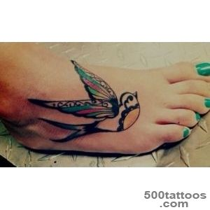 75 Cool Foot and Flip Flop Tattoos_14
