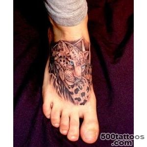 125+ Gorgeous Girly Foot Tattoos and Designs_11