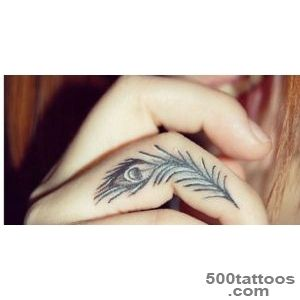 28 Tiny Finger Tattoo Ideas_8