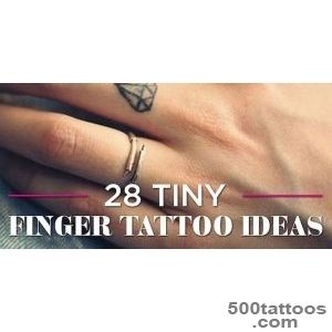 28 Tiny Finger Tattoo Ideas_18