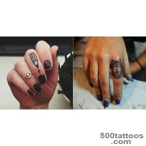 30 Awesome Finger Tattoos That Will Subtly Add Creativity To Your Life_17