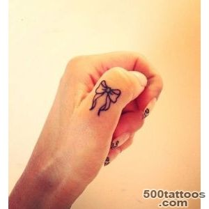 55+ Cute Finger Tattoos  Art and Design_3