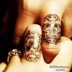 55+ Cute Finger Tattoos  Art and Design_25
