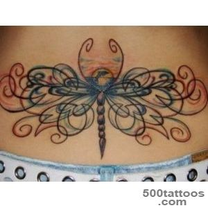 On the lower back tattoo design, idea, image