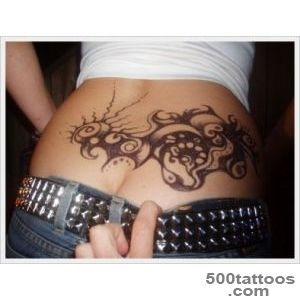 30 Sexy Lower back Tattoos For Girls_9