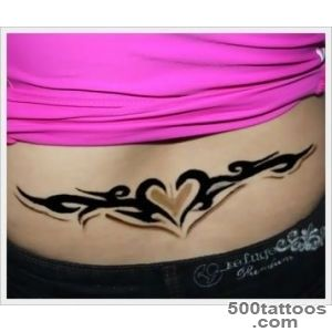 40 Lower Back Tribal Tattoos that are both Sexy and Artistic_43