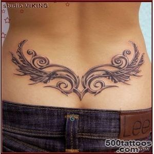 Angel Wing Tattoos On Lower Back for Women  daisy lower back _2