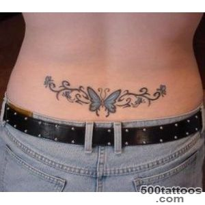 Butterflies Lower Back Tattoo  Fresh 2016 Tattoos Ideas_13