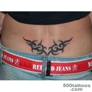 Tribal Lower Back Tattoos Designs  Cool Tattoos Designs_49