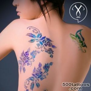 Flower Tattoo Designs Jinny Coffey Designs Creative Temporary Tattoos_38