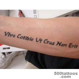 Black Text Tattoo For Arm – ImagesBugcom_25