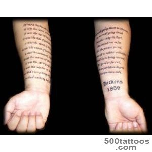Death Text Tattoo On Forearm  Fresh 2016 Tattoos Ideas_23
