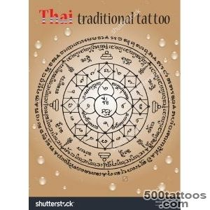 Thai Tattoo Stock Photos, Images, amp Pictures  Shutterstock_43