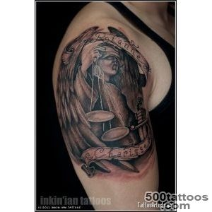 Tattoo The angel of justice with words   Tattootf_38
