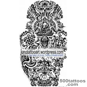 TIBETAN BUDDHIST TATTOOS   Meaning amp tattoo designer_43